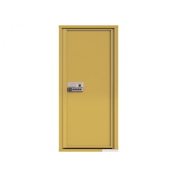 MyPackageConcierge® for Single Family Homes - Carrier Neutral Package Delivery Box - In Gold Speck Color