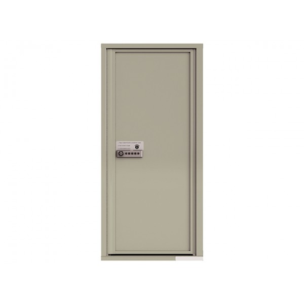 MyPackageConcierge® for Single Family Homes - Carrier Neutral Package Delivery Box - In Postal Grey Color