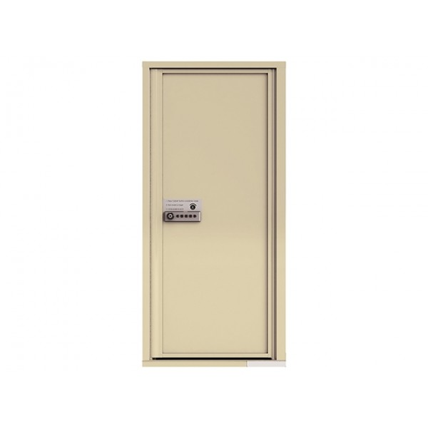 MyPackageConcierge® for Single Family Homes - Carrier Neutral Package Delivery Box - In Sandstone Color