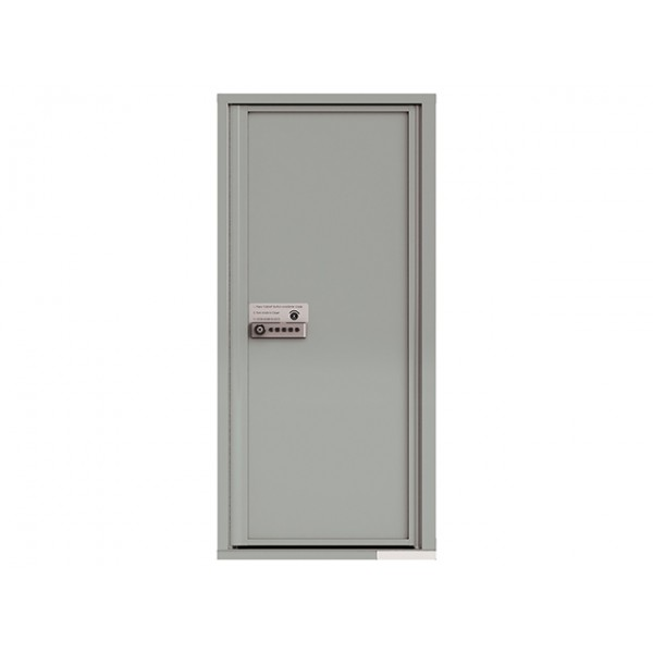 MyPackageConcierge® for Single Family Homes - Carrier Neutral Package Delivery Box - In Silver Speck Color