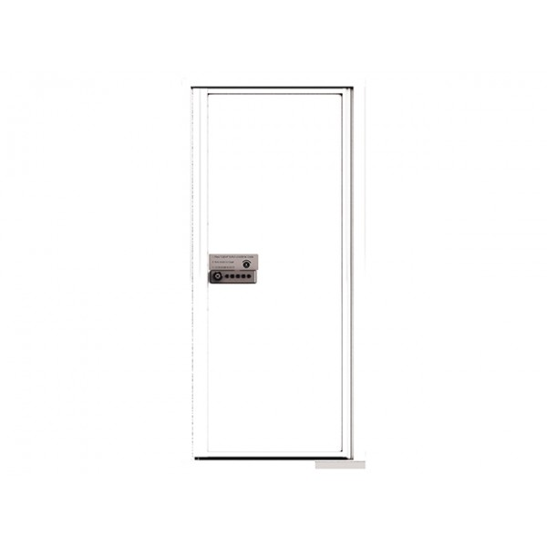 MyPackageConcierge® for Single Family Homes - Carrier Neutral Package Delivery Box - In White Color