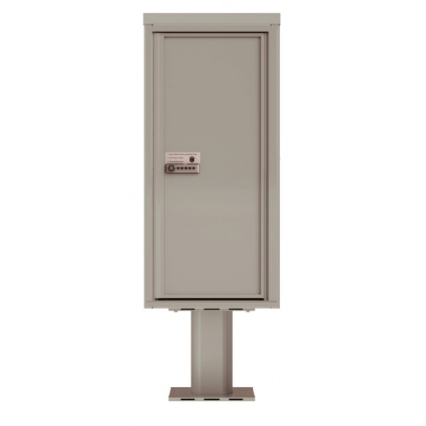 MyPackageConcierge® for Single Family Homes - Carrier Neutral Package Delivery Box - Pedestal Mount
