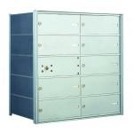 10 DA-size Door Horizontal Mailbox Unit - Front Loading - 140054DA