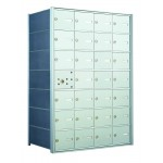 28 A-size Door Horizontal Mailbox Unit - Front Loading - 140074A