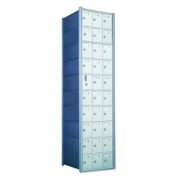 Standard 30 Door Horizontal Mailbox Unit - Front Loading - (29 Useable; 10 High) - 1600103A