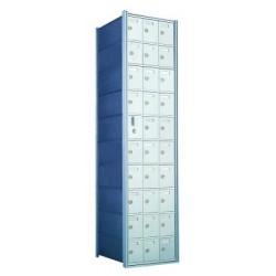 Custom 30 Door Horizontal Mailbox Unit - Front Loading - (29 Useable; 10 High) - 1600103-SP