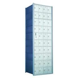 Custom 40 Door Horizontal Mailbox Unit - Front Loading - (39 Useable; 10 High) 1600104-SP