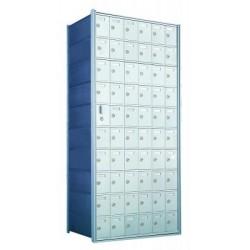 Custom 60 Door Horizontal Mailbox Unit - Front Loading - (59 Useable; 10 High) 1600106-SP