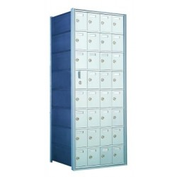 Custom 32 Door Horizontal Mailbox Unit - Front Loading - (31 Useable; 8 High) 160084-SP