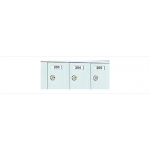 Custom 21 Door 7 High Horizontal Mailbox Unit - Front Loading - 170073-SP