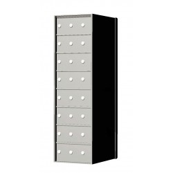 Standard 24 Door 8 High Horizontal Mailbox Unit - Rear Loading - 170083A
