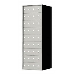Custom 36 Door 9 High Horizontal Mailbox Unit - Rear Loading - 170094SP