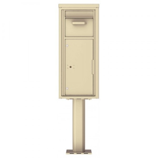 Collection/Drop Box Unit - 4C Pedestal Mount 11-High (Pedestal Included) - 4C11S-HOP-P