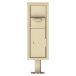 Collection/Drop Box Unit - 4C Pedestal Mount 13-High (Pedestal Included) - 4C13S-HOP-P