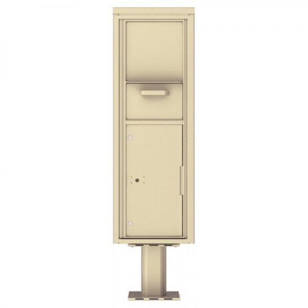Collection/Drop Box Unit - 4C Pedestal Mount 14-High (Pedestal Included) - 4C14S-HOP-P