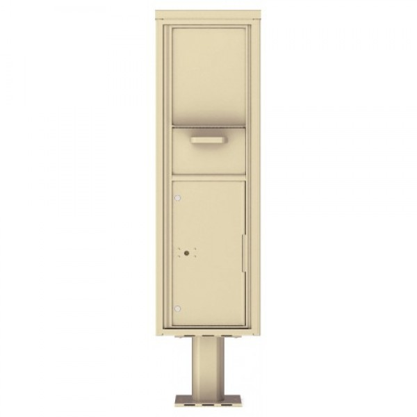 Collection/Drop Box Unit - 4C Pedestal Mount 15-High (Pedestal Included) - 4C15S-HOP-P