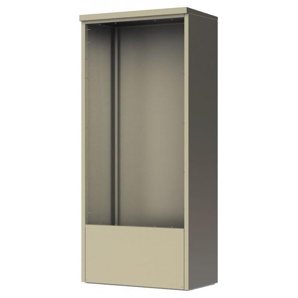 4C Depot Cabinet - accommodates any double column 15 high 4C unit - DEP15D