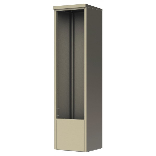 4C Depot Cabinet - accommodates any single column 15 high 4C unit - DEP15S