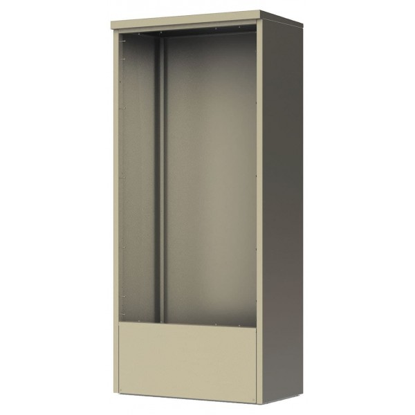4C Depot Cabinet - accommodates any double column Max height 4C unit - DEP16D