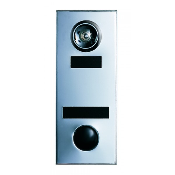 Mechanical Door Chime with Standard Viewer and Name Cards (Anodized Aluminum) - 686101-01