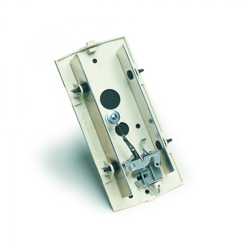 Mechanical Door Chime with Standard Viewer and Name Cards (Silver