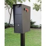 QualArc Vacation Mailbox with Post - Model WF-VACMB-PST