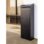 QualArc ParcelSentry Freestanding Locking Parcel and Mailbox - Model WF-PB007
