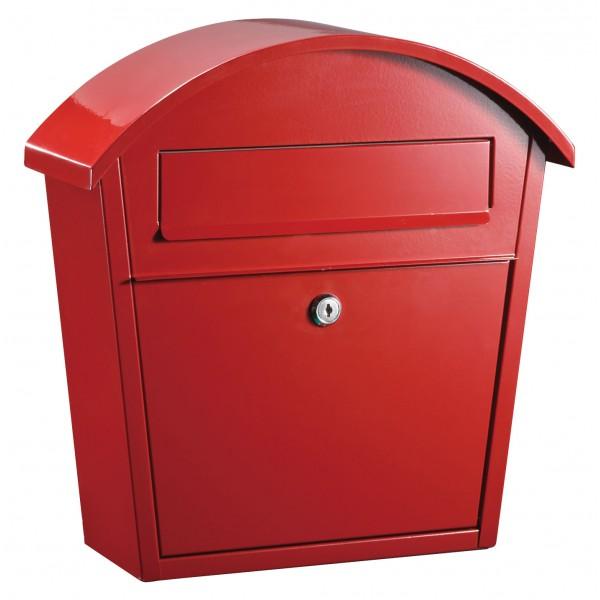 QualArc Ridgeline Red Locking Mailbox - Model WF-PM16-RD