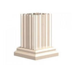 Classic Decorative Pillar Pedestal Cover for CBU Type 3 & 4 - VOGUEP114
